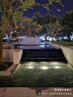景观叠水夜景设计