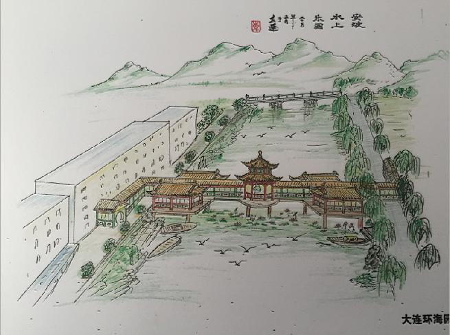 安波温泉仿古设计
