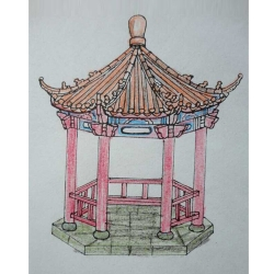 上海仿古凉亭设计