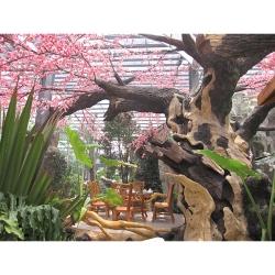 上海仿木雕塑