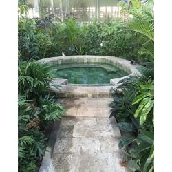 温泉玉石泡池设计