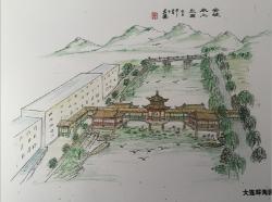 上海安波温泉仿古设计