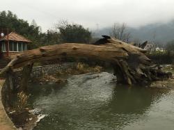 仿木桥建造