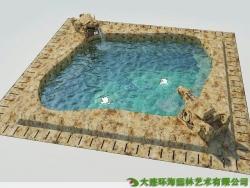 温泉泡池设计