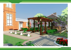 大连别墅庭院设计