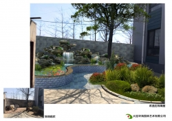 别墅庭院绿化设计