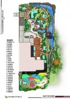 庭院平面园林绿化设计
