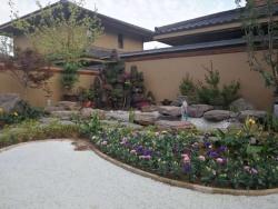 日式别墅造景