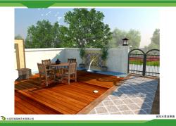 别墅庭院设计施工