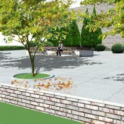 花园广场设计