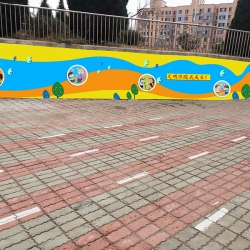 彩绘墙面设计