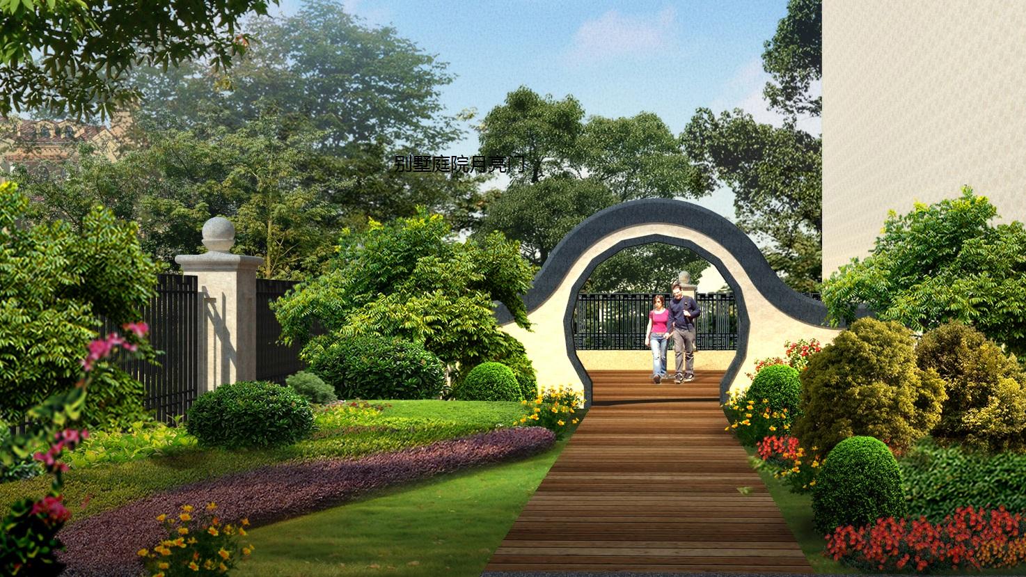 别墅,改善型住宅,在郊区或风景区建造的供休养用的园林住宅.