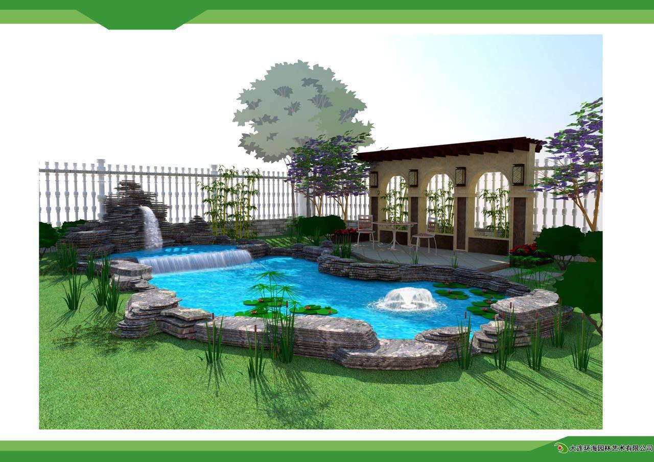 扬州别墅庭院设计